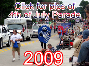 View Pics from the 2009 4th of July Parade