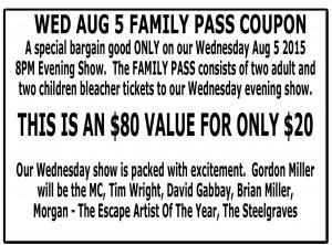family pass coupon